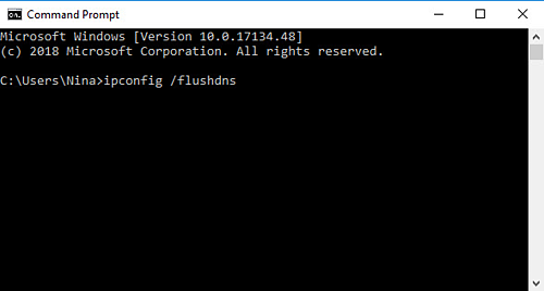 Editing Your Hosts File - Command Prompt
