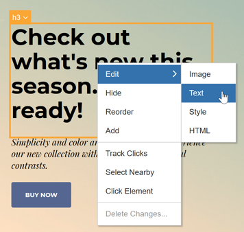 How do I build a Campaign with the Visual Editor - Clothing Co II