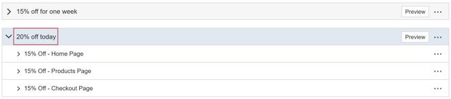 How do I create an AB Test with multiple Variation Groups - Create Two More Variation Groups III
