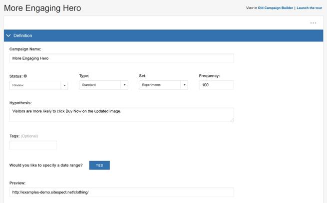Image Swap Using the Visual Editor - Step 2 More Engaging Hero