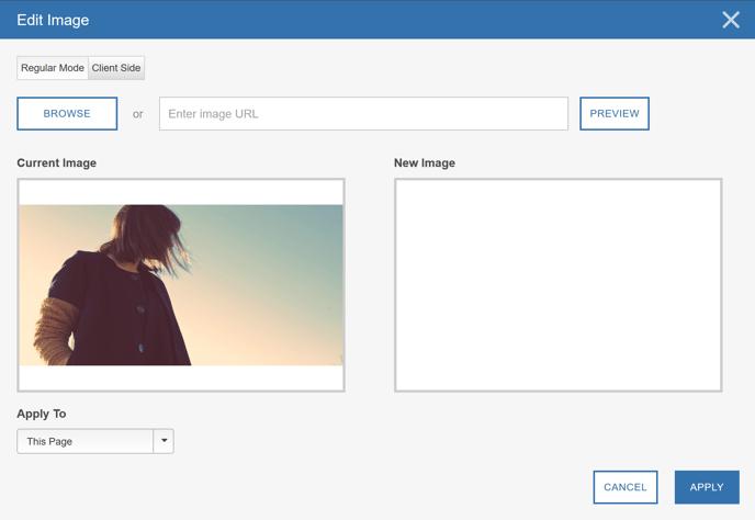 Image Swap Using the Visual Editor - Step 3 Edit Image II