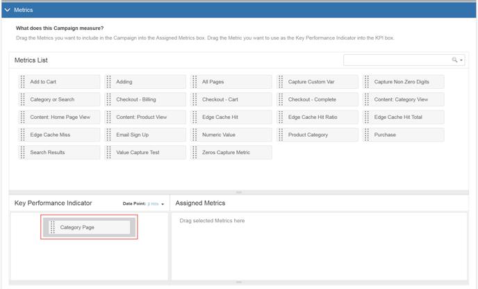 Image Swap Using the Visual Editor - Step 4 Metrics