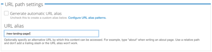 Integrating SiteSpect and Drupal - URL Path Settings