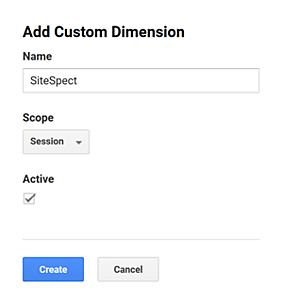 Integrating SiteSpect and Google Analytics - Add Custom Dimension