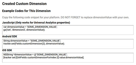 Integrating SiteSpect and Google Analytics - Created Custom Dimension