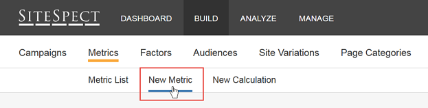 Test a New Search Algorithm - Step 3 New Metric