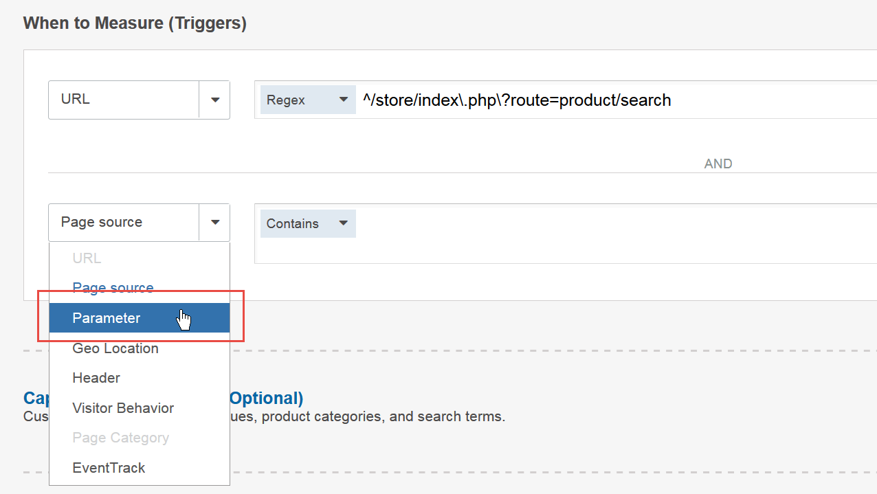Test a New Search Algorithm - Step 3 When to Measure Triggers V