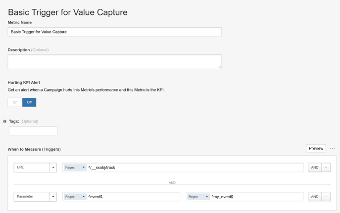 Using EventTrack for Advanced Visitor Tracking - Triggers for Value Capture Using EventTrack
